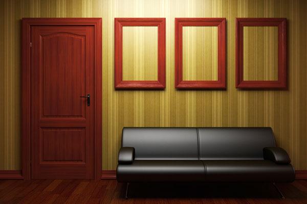 lämna in dörrar för målning